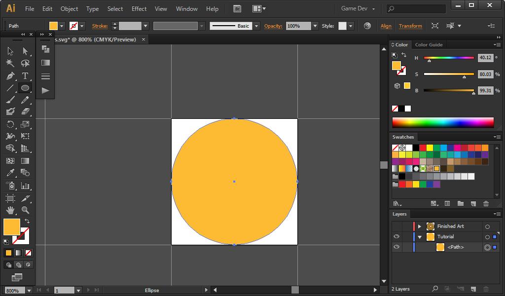 02 - Orange Circle