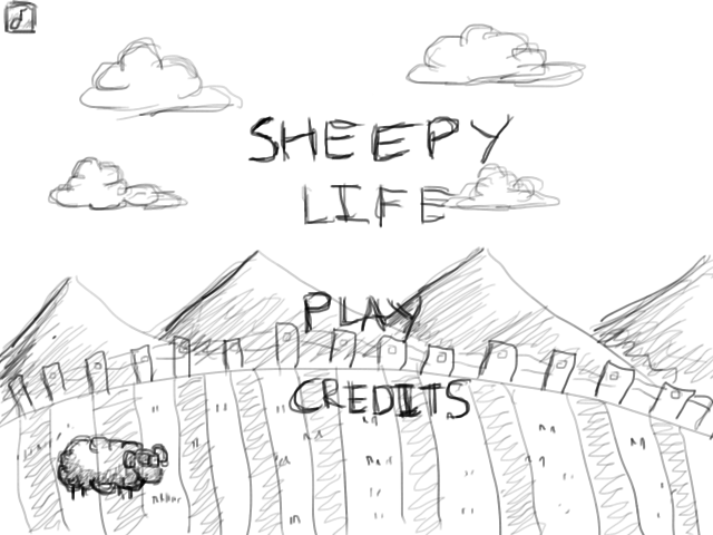 SheepyLife_Sketch_MainMenu