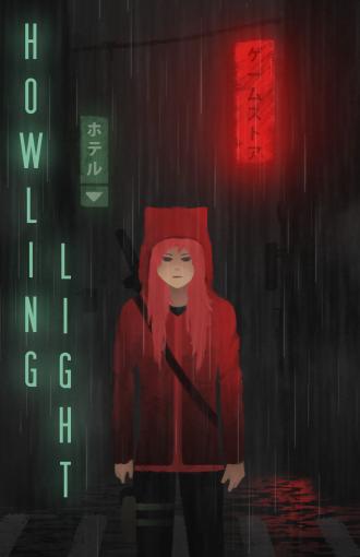 Howling Light Art