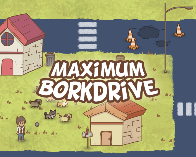 Maximum Borkdrive - Logo