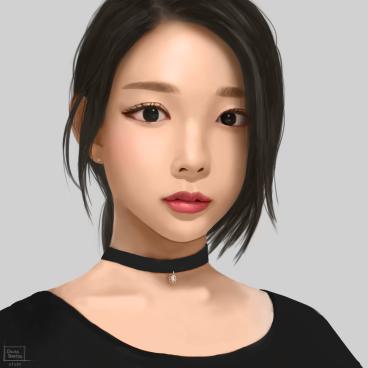 portrait study 8.6.18