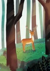 Zoo4D_BookIllustrations_PageToScan_Deer_v4